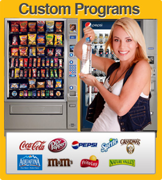 Houston vending machines and vending service soda, snack, coffee, food | Golden Age Vending